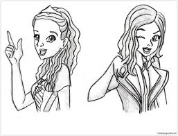 Several can be found on my blog: New Disney Descendants Coloring Pages Descendants Coloring Pages Free Printable Coloring Pages Online