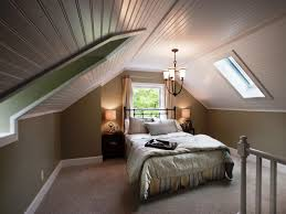 Low Ceiling Attic Bedroom Luxurious Low Ceiling Attic Bedroom Design With Comfy Bed Combined