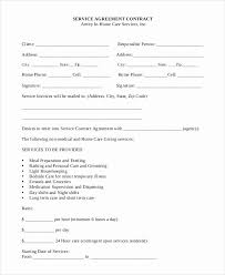 Service Agreement Samples Examples Of Service Contracts Beautiful Maid Service Sample