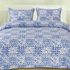 Blue Pattern Duvet Cover Magnificent Design
