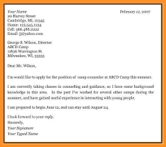 Letter Writing Format For Students Unique Resume Cover Letter