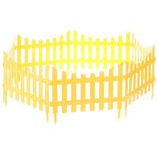 <b>Забор декоративный</b> №7, 3 м, цвет жёлтый в <b>Костроме</b> – купить ...