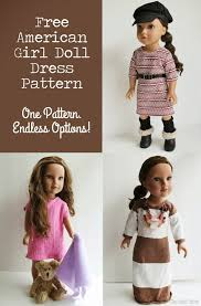 Free Printable Doll Clothes Patterns For 18 Inch Dolls Simple Ideas