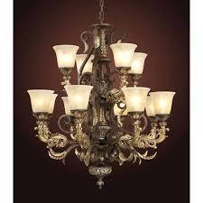elk lighting trump home regency twelve light burnt bronze chandelier chandeliers viviana bur elk lighting chandelier