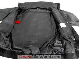 gerbing microwire heated jacket liner review webbikeworld gerbing s microwire heated jacket liner heated back pad