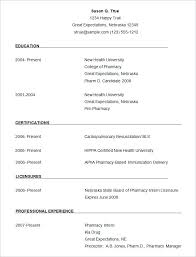 Download A Resume Download Resumes Templates In Resume Template