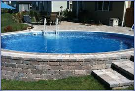 square above ground pool with deck. Aboveground-pool-remodeling-ideas - Radiant Pools Square Above Ground Pool With Deck P
