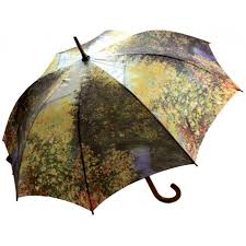 monet printed umbrella at labes home decor fashion and jewelry