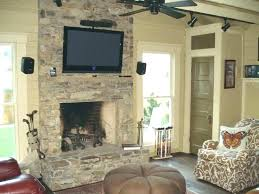 removing stone fireplace rock wall cleaning fireplace rock wall gas fireplaces stones