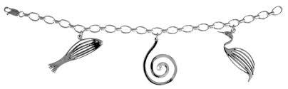 simmons jewelry. simmons 3 charm bracelet silver $316 jewelry