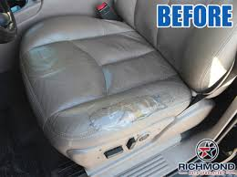 2003 2006 chevy tahoe suburban lt z71 ls leather seat cover driver bottom tan