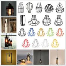 no wire lighting. Image Is Loading Edison-Wire-No-Wire-Cage-Hanging-Lamp-Shade- No Wire Lighting O