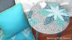mosaic table top learn how to mosaic a table including how to transfer a design cut mosaic table top