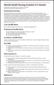 Psych Nurse Resume Cool Curriculum Vitae Sample Registered Nurse