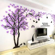 small tree 3d wall sticker