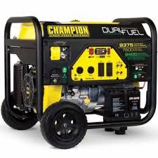 portable generators. Champion Power Equipment 7500-Watt Dual Fuel Portable Generator With Electric Start Generators