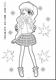 Small Picture wonderful coloring pages cute anime girl drawings with anime girl