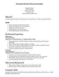 Cover Letter Example Of Resume Download Free Examples Of Skills