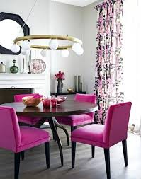 colorful dining room sets. Pink Dining Room Vibrant Colored Chairs For The Modern Colorful Sets .