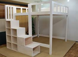bunk bed with stairs plans. Full-size-loft-bed-with-stairs-plans Bunk Bed With Stairs Plans