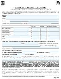Lease Agreement Form Pdf Delectable Version Adobe Word Residential Lease Agreement Pdf Download Free