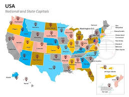 Editable Map Of Usa For Powerpoint Best Editable Usa Map Designs For Microsoft Powerpoint Editable