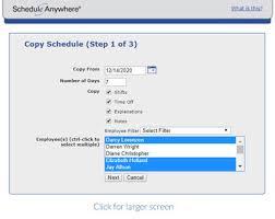 Online Work Schedule Employee Scheduling Software Scheduleanywhere