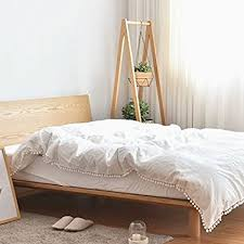 white cotton duvet cover king.  White Pom Poms Fringe Cotton Duvet Cover Meaning4 Off White Raw King Or  California Size Inside P