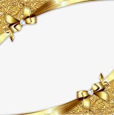 Gold Diagonal Border Golden Business Card Frame Png And Psd File