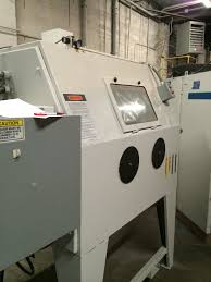 Clemco Industries Blast Cabinets Clemco Zero Bnp 220 Suction Blast Cabinet With A 300 Automation