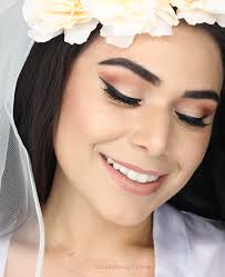 see how i did my fall wedding makeup warm eyes and glowing skin for this