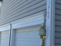 trim around garage door how to install vinyl garage door trim trim around garage door vinyl