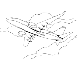 Airplane Coloring Pages - coloringsuite.com
