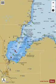 Saginaw Bay Michigan Marine Chart Us14863_p1316