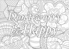 Van Gogh Coloring Pages Fresh Don T Worry Be Happy Quotes