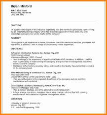 Objective Summary For Resume 100 Objective Summary Examples How To Make A Cv 33