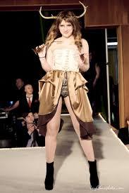 Clothing: Erin Weathers. Model: Amber Rapson. Hair: P.M.K.M.I. ...