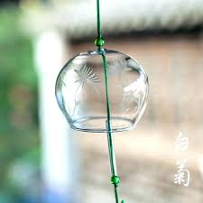 japanese glass wind chime glass wind chimes free glass wind chimes white chrysanthemum wind bell