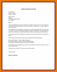 11 Application Letter For Applying A Teacher Texas Tech Rehab