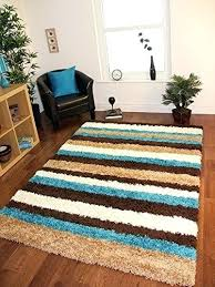 chocolate brown and blue rugs teal turquoise blue brown beige modern stripes gy rugs 5 sizes