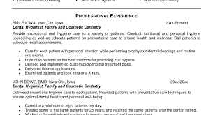 Dental Hygiene Cover Letter Samples Tips For Creating A Dental