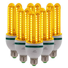 Yellow Lights And Bugs Ouyide Bug Light Bulb Yellow Led Bulbs Outdoor Porch Lights Amber Bedroom Night Light Bulb A19 Bugs Free Bulbs 100w Equivalent E26 Socket 16w