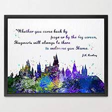Amazon Dignovel Studios 40X40 Hogwarts Castle Quote Harry Stunning Harry Potter Friendship Wallpaper Quotes