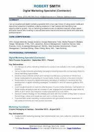 Marketing Experience Resume Marketing Resume Samples Examples And Tips