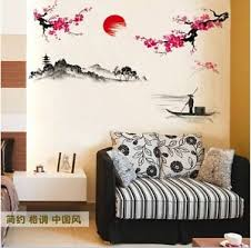 image is loading sakura japanese pink cherry blossom tree branch decor  on removable wall art stickers uk with sakura japanese pink cherry blossom tree branch decor wall art