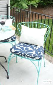 diy chair cushion porch makeover progress outdoor chair cushions girl says diy wooden rocking chair cushions diy chair cushion