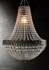 renaissance crystal chandelier 25in with lighting kit zoom