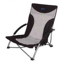 kampa sandy high back low beach chair