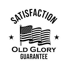 Vintage Old Glory Raglan