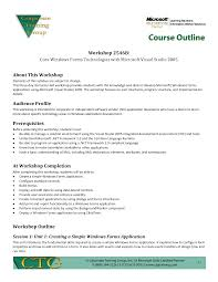 Course Proposal Template Sample Training Outline Template Reference Letter Business